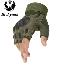 Outdoor Tactical Gloves Airsoft Sport Gloves Half Finger / Full Finger Type Military Men Combat Gloves Shooting Hunting Gloves