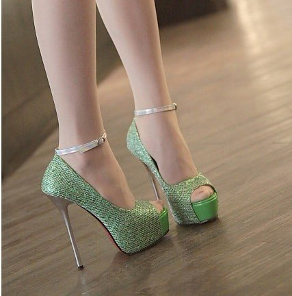 bd26849f689 Hot sale Price New lady s fashion sexy high heel peep toe shoes Ladies Heel  Sandals Women s elegance pump shoes size 35 39 L168-in Women s Pumps from  Shoes ...