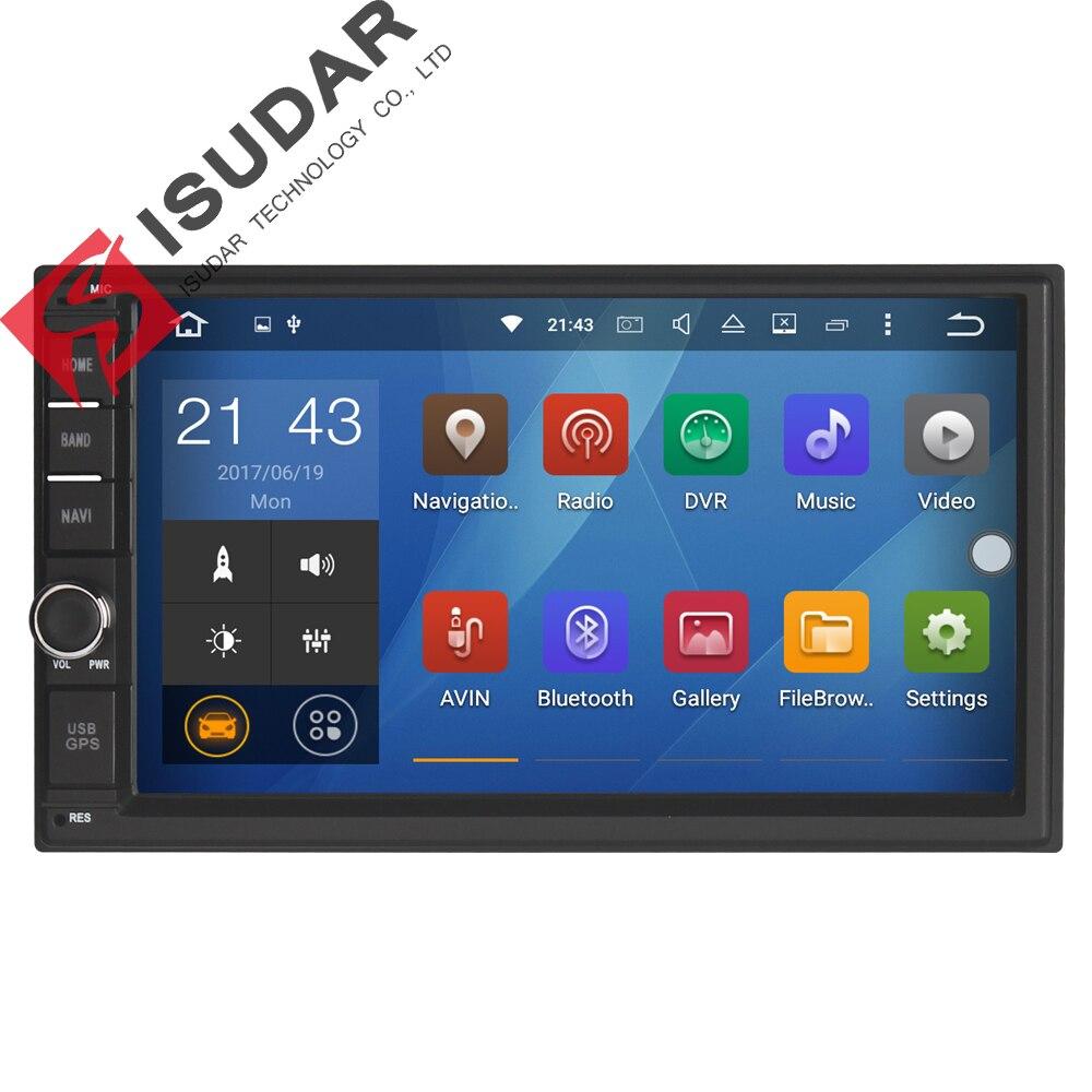 """imágenes para 7 """"2 Din 1024*600 6.0.1 Android Toque PC Del Coche Universal DVD Del Coche Para Nissan/Hyundai Radio de Navegación GPS Stereo Player (Sin DVD)"""
