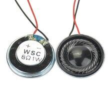 AIYIMA 10 Pcs 28mm Mini Audio Tragbare Lautsprecher 8 Ohm 1 W Lautsprecher DIY Für Spielzeug