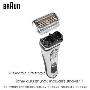 Image 5 - Braunn 92s シリーズ 9 箔 & カッター交換ヘッドカセットシェーバーカミソリ刃 9030s 9040s 9050cc 9090cc 9095cc