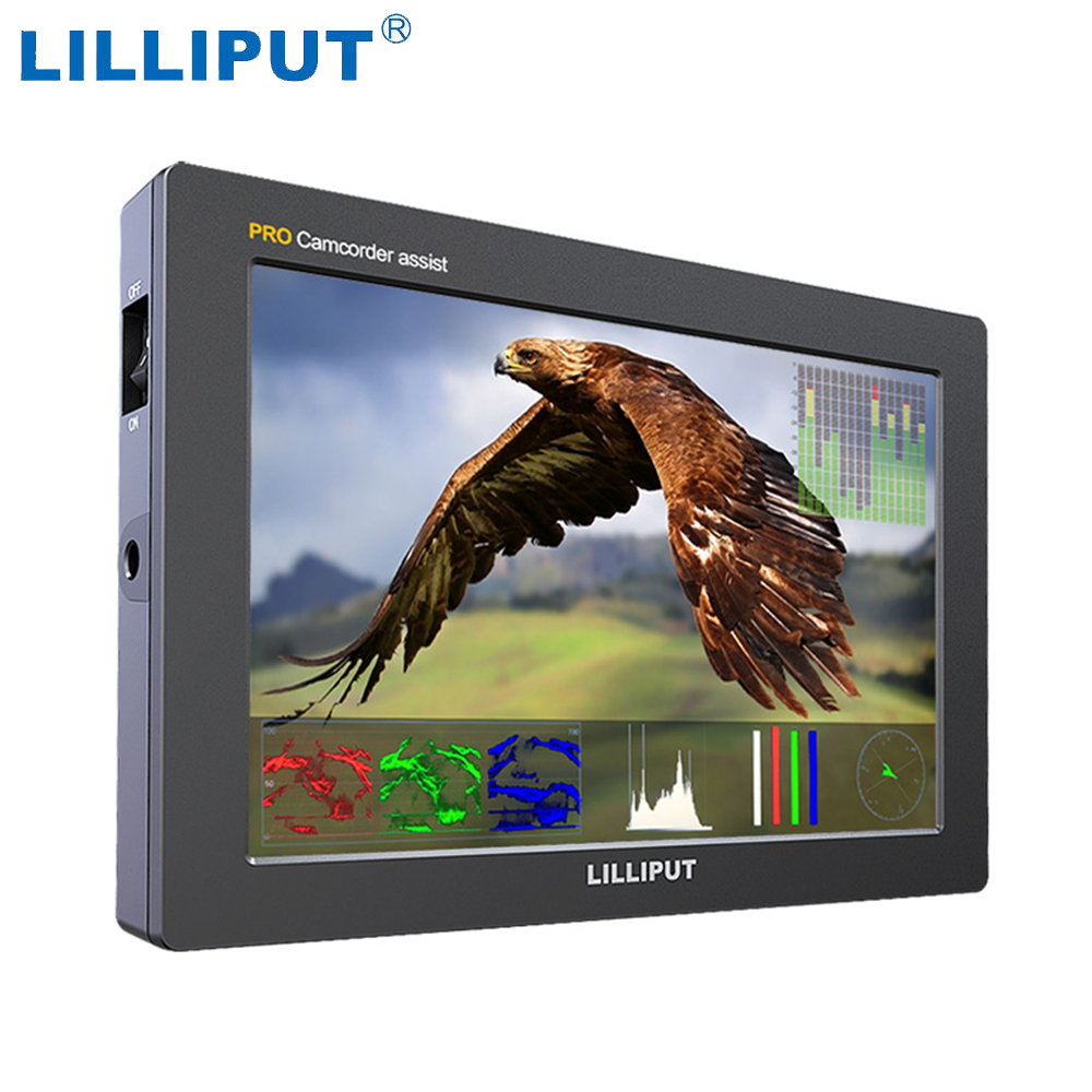 Lilliput Q7 Pro 1920*1200 3D-LUT HDR  Color Space  3G-SDI HDMI Cross Conversion  7 Inch Field Monitor