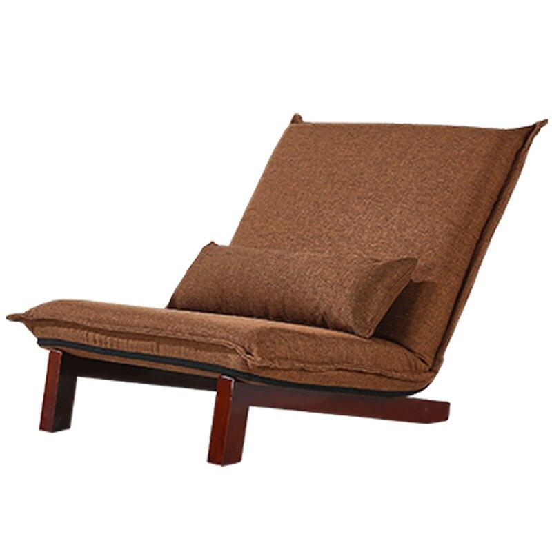 Boden Faltbare Entspannen Sofa Lehnstuhl Folding Chaise Wohnzimmer Mbel Modernen Freizeit Stuhl StoffbezugChina