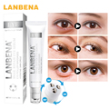 LANBENA Snail serum Anti-Puffiness Remove Dark Circles wrinkles Instantly Ageless Hyaluronic Acid Moisturizing Skin Care Essence