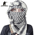 Airsoft Militar Engrossar Multifunction Tactical Scarf Shawl Hijab Muçulmano Shemagh Árabe Keffiyeh Cachecóis Mulheres Cachecol Fashion