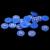 9-12mm 1000/2000 pcs Azul AB Resina ABS Meia Pérolas de Imitação Rodada Beads Girassol Cartões De Casamento enfeites Decorações DIY