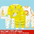 Pijamas de niños niño niños ropa conjunto ropa de bebé niños conjuntos de Ropa niños ropa de dormir de las niñas ropa de invierno de los niños pijama conjunto