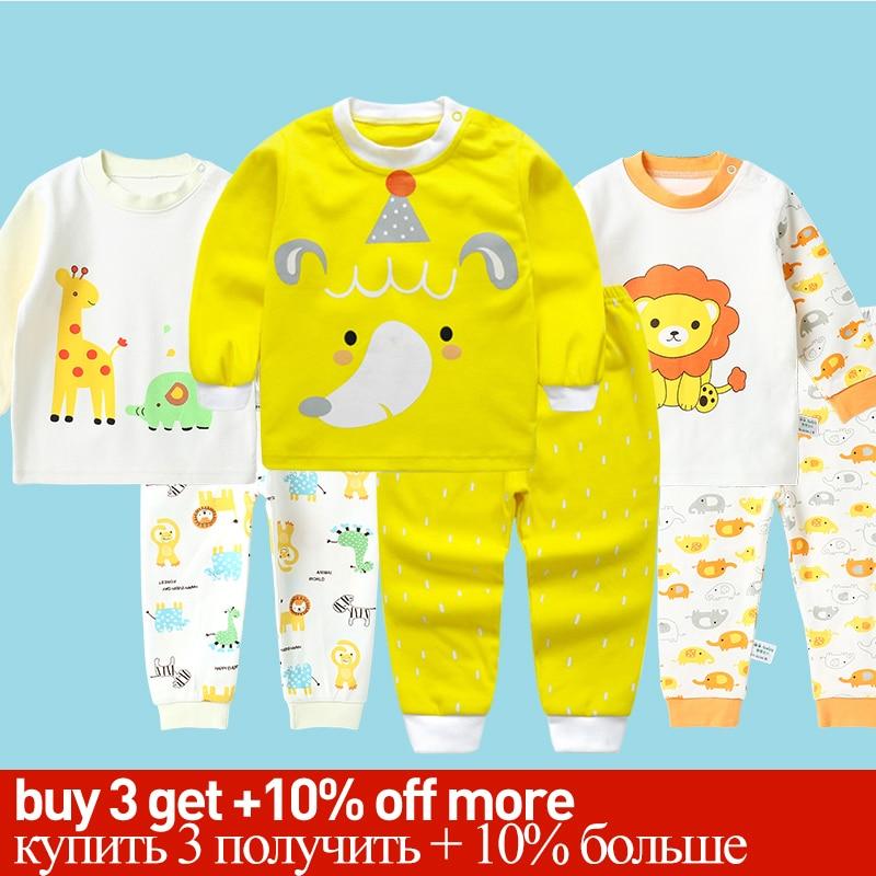 Pyjamas Kids Children Toddler Boys Clothing Set Baby Boys Clothes Sets Kids Sleepwear Winter Clothes Girls Children's Pajama Set
