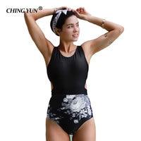 2018 Beach Swimwear Sexy Lingerie Leopard Print Printing Bikini High Elastic Women Swimsuit Straps Binding Bathing