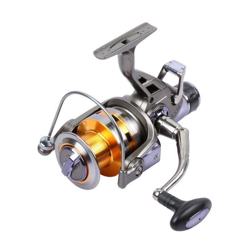 Mmlong Carp Fishing Reels Power Drive Gear KS7000 KS8000 Baitcasting Reel Wheel Fishing Aluminum Spool Spinning Wheels Tackles