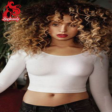 Cheap Afro Kinky Synthetic Lace Front Wigs African American hair For Black Women Natural Black Female Cosplay Wig