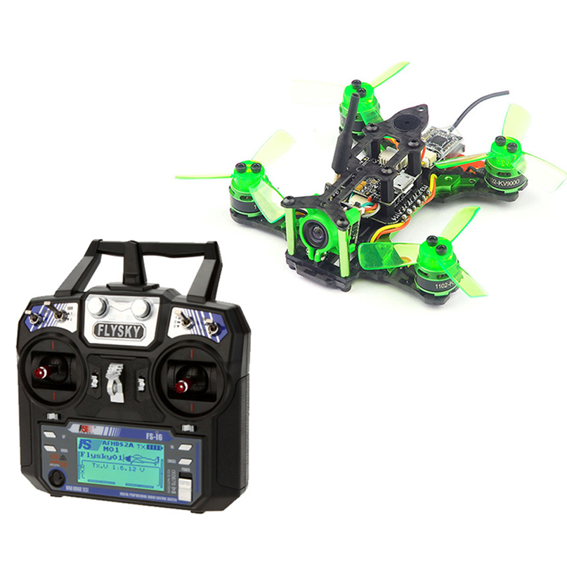 Mantis 85 Micro FPV Racing RTF Drone With Flysky FS-i6 6CH 2.4G AFHDS 2A LCD Transmitter Radio System for RC Drone jr for futaba metal support holder for transmitter radio system for rc camera drone accessories