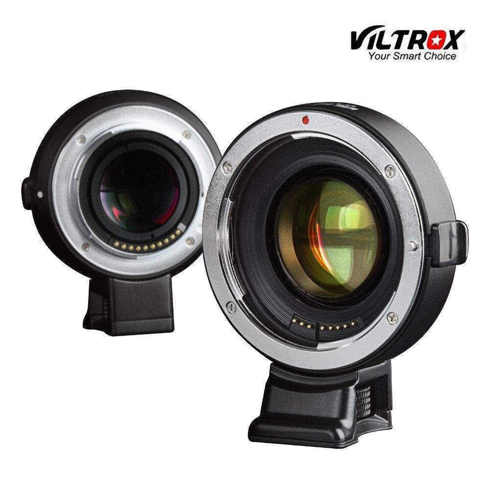 Viltrox auto focus reductor Speed Booster Adaptadores para objetivos Canon EOS EF lente a Sony NEX e Cámara nex-7 a6000 A7 a7r a7s a6300