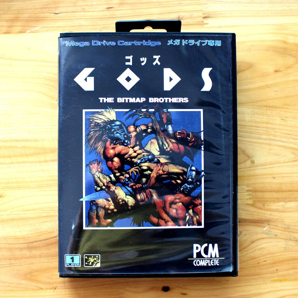 The Bitmap Brothers 16 Bit SEGA MD Game Card With Retail Box For Sega Mega Drive For Genesis