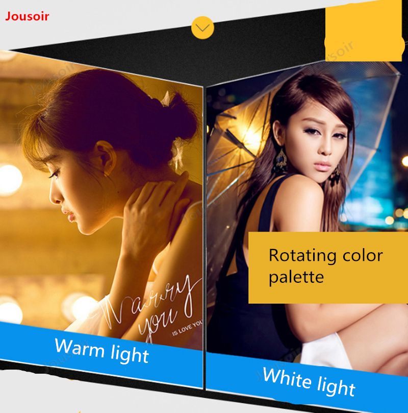 Mini portátil de Color doble temperatura fotografía recarga palo fuera disparando como lámpara pequeña palo de Luz Portátil CD50 T03 - 4