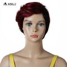 Благородные синтетические волосы парики 10 дюймов короткие волнистые светлые парики для черных женщин Термостойкие
