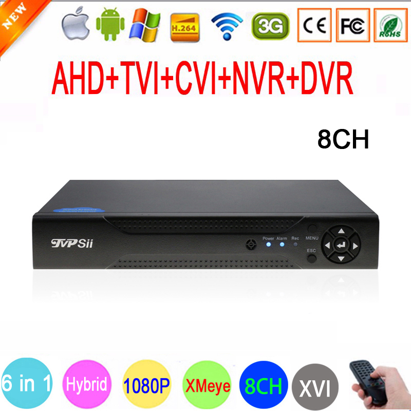 Hisiclion Chip Dahua Exterior Metal Case 16 Channel 1080P/1080N/960P/720P/960H Four In One Tvi NVR AHD DVR Free Shipping