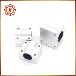 Image 4 - Sc16uu 4pcs SC16UU SCS16UU Linear motion ball bearings cnc parts slide block bushing for 16mm linear shaft guide rail CNC parts