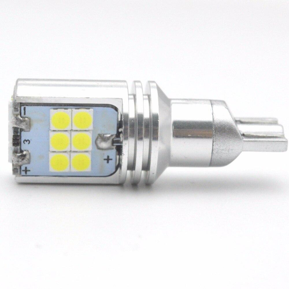 1pcs High Power 720lm Super Bright T15 W16W 921 915 LED Canbus Error Free 15SMD 3030 Backup Reverse Tail Brake Lights White