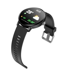 Image 2 - Спортивные Смарт часы V11, 1,3 дюйма, цветные, водостойкие, IP67, уведомления о звонках/сообщениях, пульсометр, измерение кровяного давления, Смарт часы