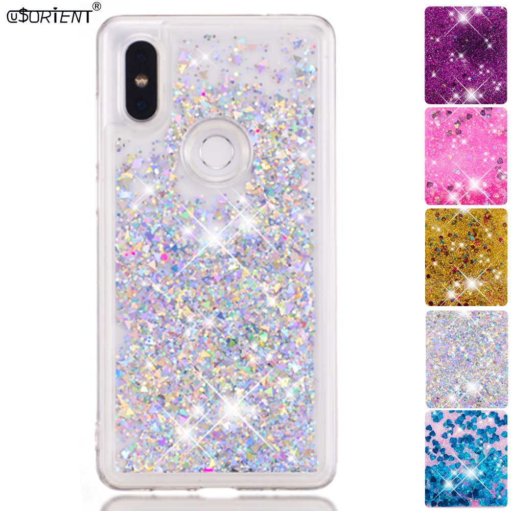 Cellphones & Telecommunications Phone Bags & Cases Devoted For Xiaomi Mi Mix 2s Glitter Stars Dynamic Liquid Quicksand Tpu Cover Phone Case Xaomi Xiomi Mi Mix 2s Mix2s Silicone Back Funda To Make One Feel At Ease And Energetic