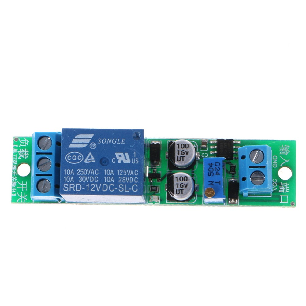 Dc 12v Signal Trigger Delay Turn Off Delay Timer Switch