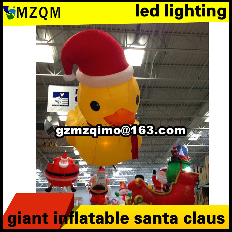 inflatable Christmas duck Inflatable Cartoon Customized Advertising Giant Christmas inflatable Santa Claus For Christmas  inflatable Christmas duck Inflatable Cartoon Customized Advertising Giant Christmas inflatable Santa Claus For Christmas