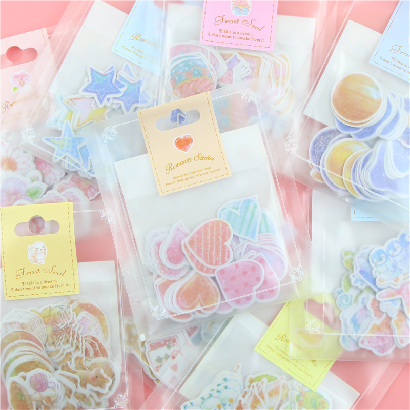 Special Romantic Small Sticker Diy With Q lia Stickers Stick Stick 70