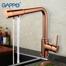 GAPPO wasserfilter wasserhähne mischer farbe spüle Wasserhahn gereinigtes wasser wasserhahn trinken wasserfilter wasserhahn GA4390-3