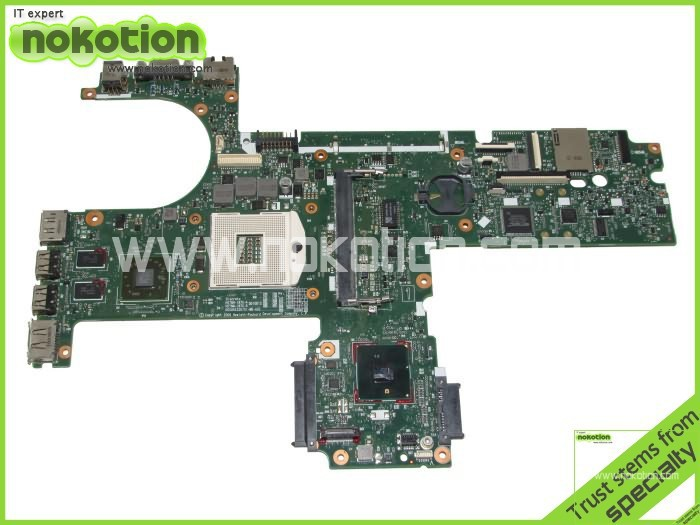 NOKOTION 613298-001 For hp pavilion 6450B 6550B laptop motherboard Intel HM57 with ATI Graphics Card DDR3 Mainboard nokotion 653087 001 laptop motherboard for hp pavilion g6 1000 series core i3 370m hm55 mainboard full tested