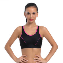 Ayliss latest 1pc Womens Sports Bra Full Coverage Comfort Non-Padded Wirefree Beauty NEW
