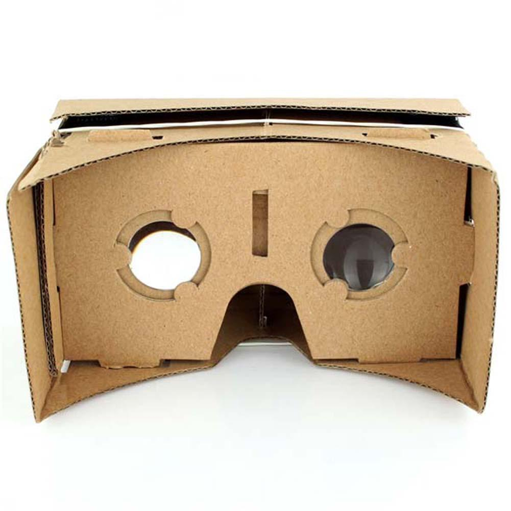 High quality DIY Google Cardboard Virtual Reality VR Mobile Phone 3D Viewing Glasses for 3.5-5.5