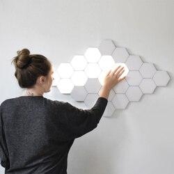 Новинка 2019, сделай сам, квантовая лампа, сенсорная, Dyena, ночная лампа, модульный шестигранный светильник, креативное украшение, Helios Touch lamparas