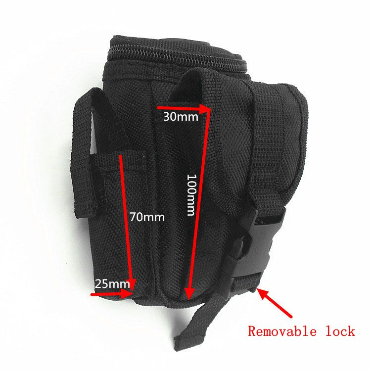 Multi-function Waist-mounted Gadget Bag Clearly Classification Multi-pocket Design Small Size Portable Tool Bag
