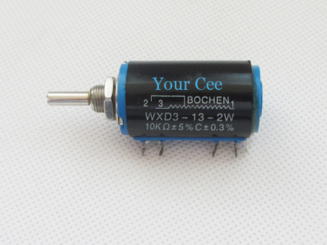 Potentiometers 5 Pcs Precision Potentiometers 10k Ohm Wirewound Multi-turn Potentiometer Wxd3-13-2w Products Are Sold Without Limitations