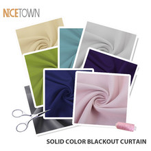 NICETOWN Various Polyester/Cotton Waterproof Blackout Sheer Voile Curtain Cloth Sample(China)
