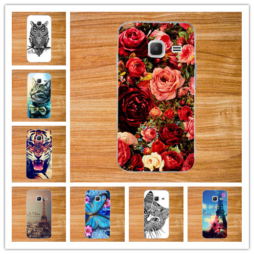 For Samsung Galaxy J1 Nxt / J1 mini (2016) J105 J105H J105F SM-J105H Phone Case Diy Painting Colored Tiger Owl ROSE Hard Cover