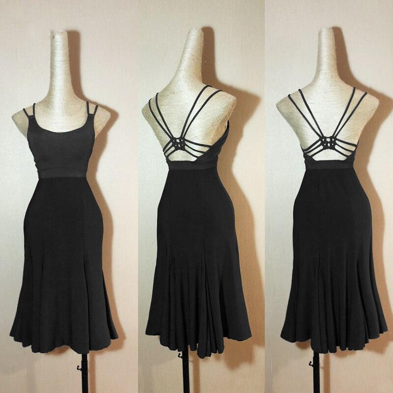 Latin Dance Dress Backless Suspenders Women Girls/Lady Cha Cha/Rumba/Samba/Tango Latin Dance Performance Wear L128