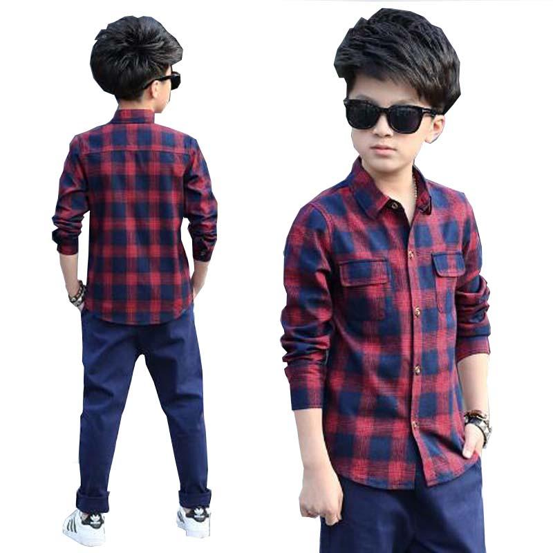 Kinderkleding baby casual shirts kinderen uitloper kleding jongens - Kinderkleding