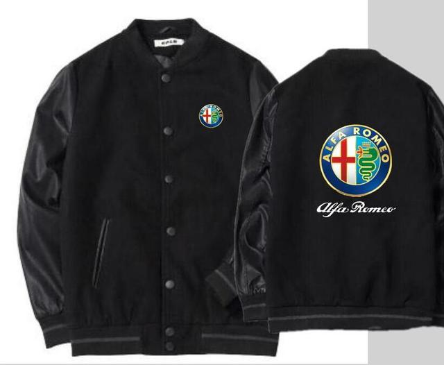 Winter Alpha Alfa Romeo Jacket Men S Woolen Large Size Loose
