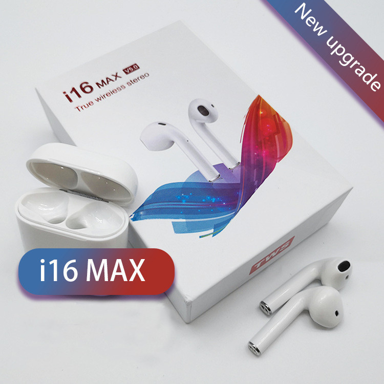 I16 max TWS Doppel <font><b>Wireless</b></font> Kopfhörer Tragbare <font><b>Bluetooth</b></font> 5,0 Headset Ohrhörer Mit Mic <font><b>Wireless</b></font> headset für IPhone X Für <font><b>Android</b></font> image
