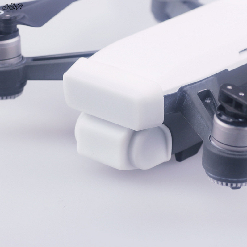 Gimbal Camera Lens Protective cover Integrated Cap Dustproof Guard For DJI Spark  Drone Accessories white yuneec q500 gimbal camera protector 3d printed camera cover dust proof cover