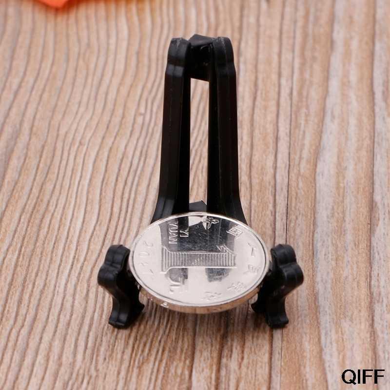 Оптовая продажа мини подставка для наручных часов пластина Монета карты медаль мячи для гольфа держатель мольберта May06
