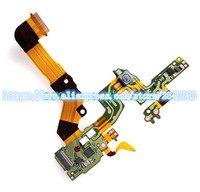 Novo para sony DSC-RX100 vi DSC-RX100M6 capa superior flash controle fpc cabo flex peças de reparo