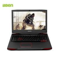 BBEN Laptop Gaming Computer Intel I7 7700HQ CPU Nvidia GDDR5 GPU Windows 10 M 2 SSD