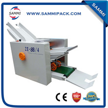 Good quality Semi-automatic paper bag folding gluing machine ZE-8B/4