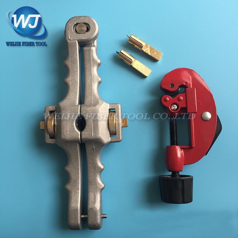 2 pcs Longitudinal Opening Knife Longitudinal Sheath Cable Slitter SI 01 Cable cutter Transverse open cable