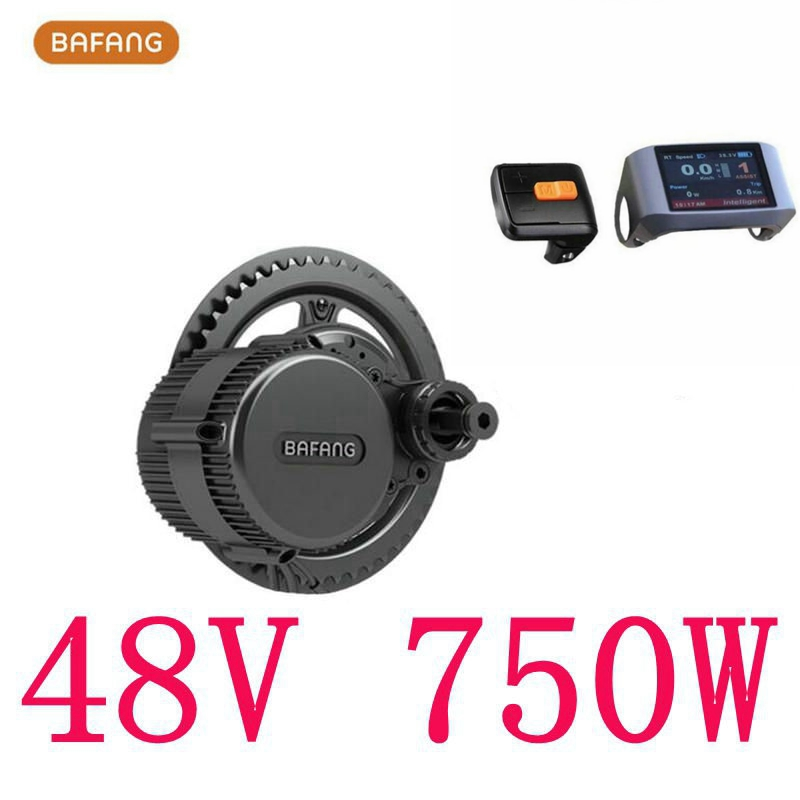 Prix pour Livraison gratuite 8fun/bafang moteur p750c lcd bbs02b 48 v 750 w dernier contrôleur manivelle moteur eletric vélos trike ebike kits