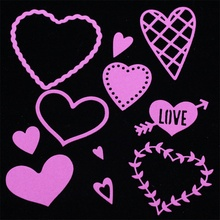Hearts Metal Cutting Dies for Scrapbooking