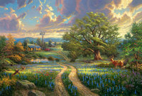 Framed Painting By Number Wall Paiting Picture Oil Painting For Living Room 4050 Country Living